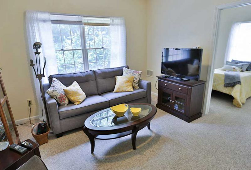 Greenfield Resident Living Area